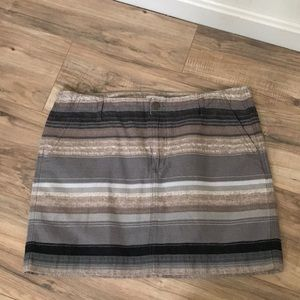 Old Navy cotton striped skirt